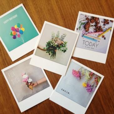 Bei Palfy: Polaroid-Karten von Pickmotion