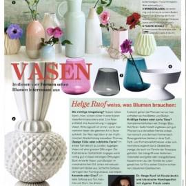 """Jumbobell-Vase in """"Schöner Wohnen"""""""