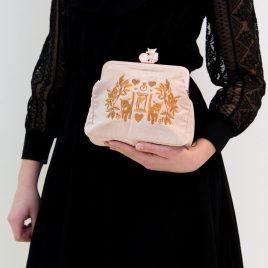 Kittens & Hearts Tasche Large Rosé