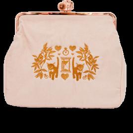 Kitten & Hearts Tasche XL Rosé